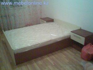 спальня кровать тумбы 1